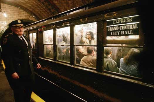 new york subway vintage