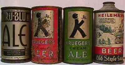 Krueger beer cans